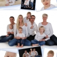 40-60 Familie collage